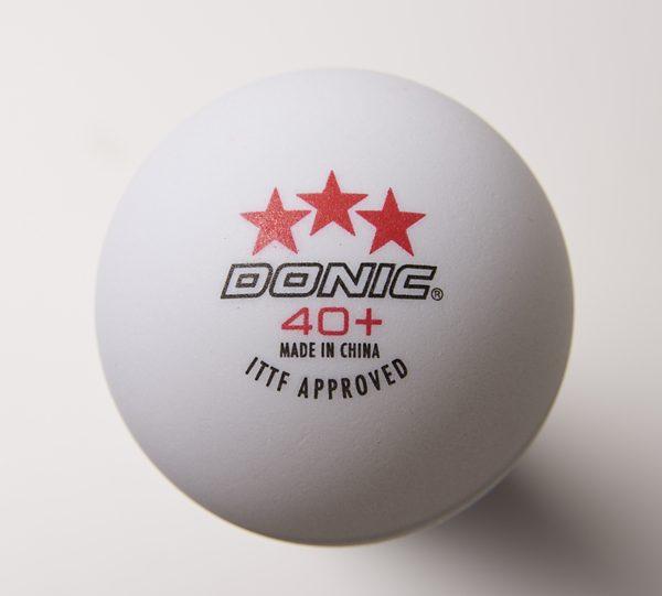Donic Ball 40+ 3 Stern weiß
